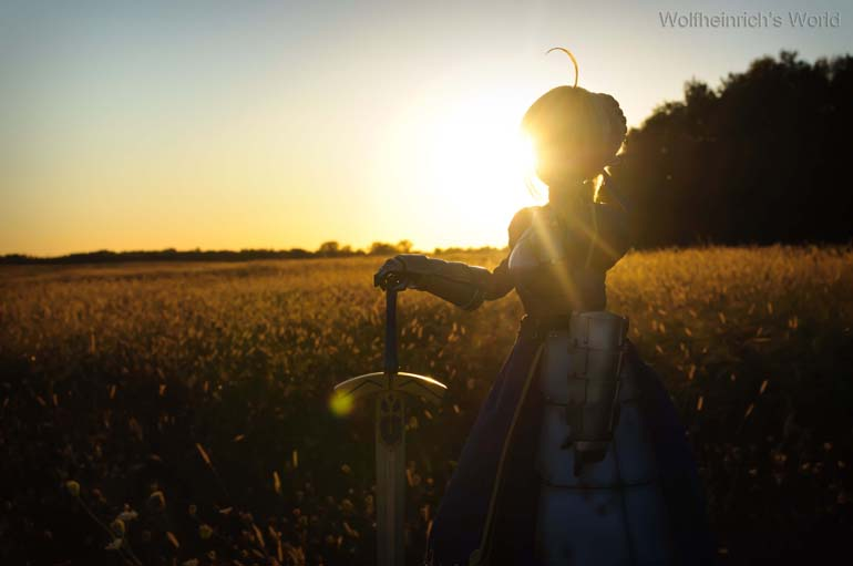[Explore] Sunset Saber セイバー Dollfie Dream In Open Field