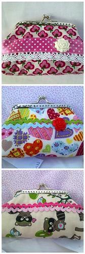 Novos porta moedas by ♥Linhas Arrojadas Atelier de costura♥Sonyaxana