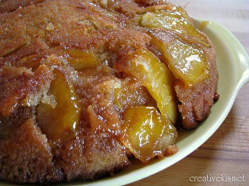 apple cake cast iron skillet apple cake roasted apple walnut skillet ...