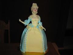 Karen Portaleo class (kakesbykari) Tags: marieantoinette cakeclass marieantoinettecake karidoyle fashioncakes