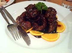 orange beef