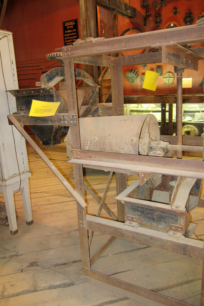 Colorado - Idaho Springs: Argo Gold Mine and Mill - Ore Sampler