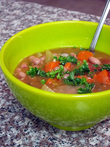 Pink Bean and Vegetable Stew