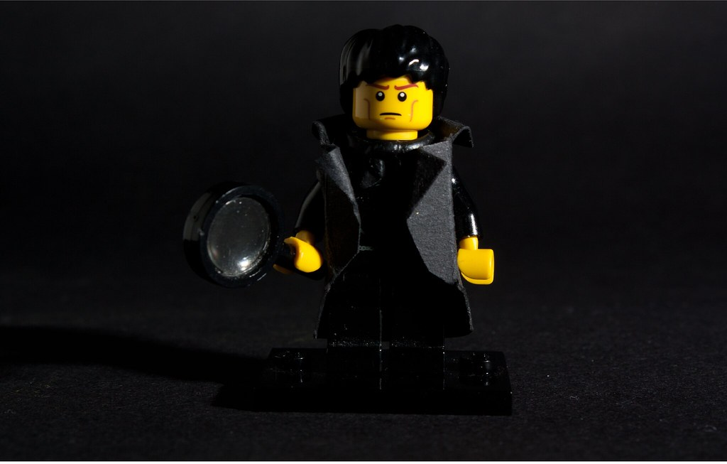 Sherlock, BBC final version in Lego