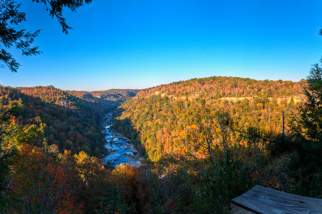 Big South Fork of the Cumberland River - Honey Creek Overlook