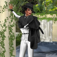 NEW ! JADOR Kay Houndstooth (mimi.juneau *Mimi's Choice*) Tags: fashion italian secondlife jador mimijuneau ziamelaloon mimischoice fall2011
