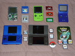 Pokemon and Game Boy of the past.