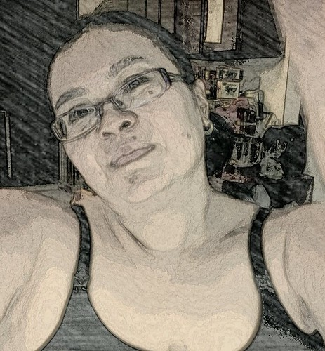Self Portrait using PaperCamera