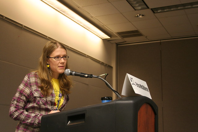 Erica McGillivray at GeekGirlCon 2011