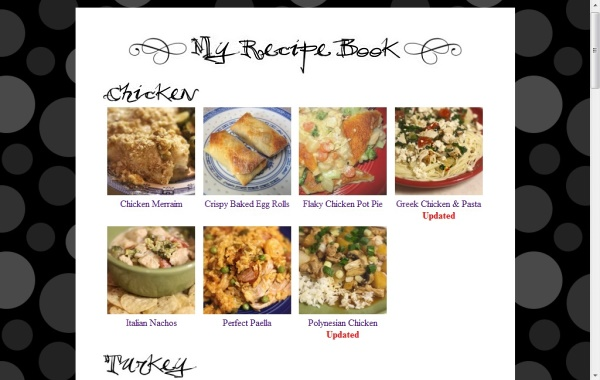 New Recipe Book - 2011