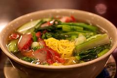 roast pork noodle soup @ hk wonton garden