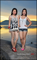 Queenie & Marielle (Gerald James Cabal) Tags: portrait model nikon photoshoot philippines bohol 28 tamron 2875 bool d7000