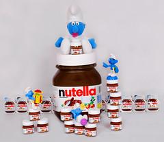 Smurfs Nutella (Maryam.Ibrahim) Tags: