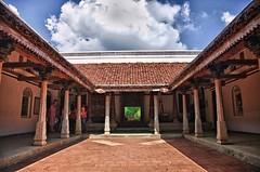 The Court yard (prabhakaran.s) Tags: urban home stone skies village country blues veranda column pillars chennai tamilnadu indiasouth opencourtyard stonecolumnroof countrystylehomecourtyard msouthindianstylehomes
