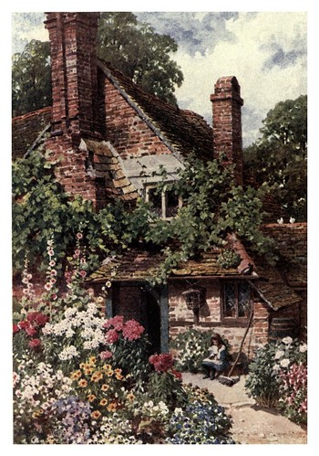 009-Un cottage en Surrey-The charm of gardens 1910- Dion Clayton Calthrop