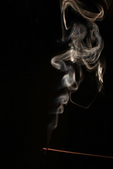 abstract form (Jennifer Kehl) Tags: lighting abstract canon smoke 5d canon5d incense ucsantacruz introtophoto 5dmkii