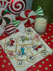Christmas Cookies (Jill FCS) Tags: christmas cookies angel cookie joy