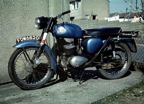 BSA Bantam D14/4 Cwmbran 1969