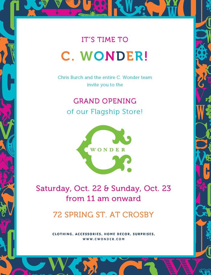 Consumer Grand Opening Invitation