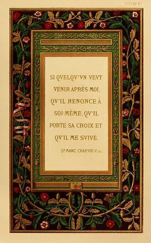 013-Versiculo biblico-Les évangiles des dimanches et fêtes de l'année –Vol 1- 1864- Leon Curmer