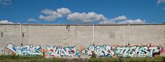 vizie chaos rime nekst (ExcuseMySarcasm) Tags: streetart graffiti chaos unitedstates michigan detroit msk rime nekst vizie guerrillaart excusemysarcasm