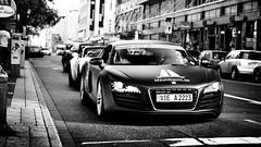 Ain't no whitey y'! (FvdB_Photography) Tags: black audi dsseldorf matte r8