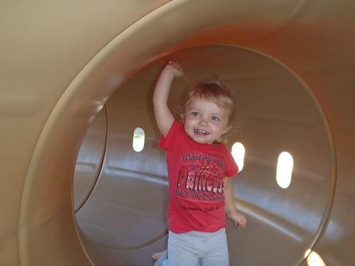 Lilah having fun!