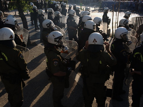 Thousands of riot police on duty to protect Greek PM during visit to Thessaloniki