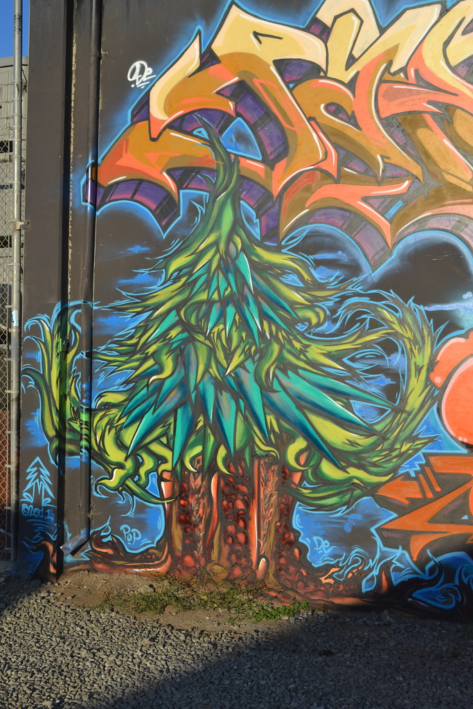 PLANTREES, DE, POP, Street Art, Graffiti, Oakland