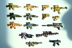 Camo Brickarms (*Clone Command* Collectable Minifigures) Tags: blue red white black green gun lego m1 rifle helmet tan assault camo weapon sniper pistol spy sword marker guns ba transparent trans smg paintball hsr m4 weapons collectable minigun carbine od m203 garand apoc tactical bipod m21 pdw ppsh ac8 dadao brickarms uclip hcsr gunmetel