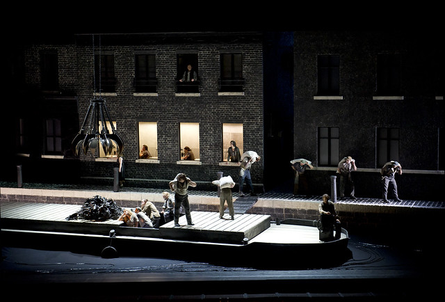 "Richard Jones' production of Il Tabarro. The Royal Opera Season 2011/13. <a href=""http://www.roh.org.uk"" rel=""nofollow"">www.roh.org.uk</a>  Photo by Bill Cooper"