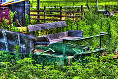 Amish Buggy 001 (Ben Spalding) Tags: hdr countrylandscapes