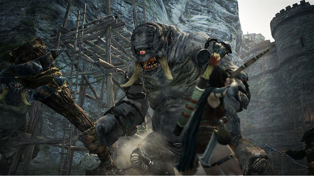 Shoot A Cyclops In Its One Eye In New Dragon's Dogma TGS Trailer (8)