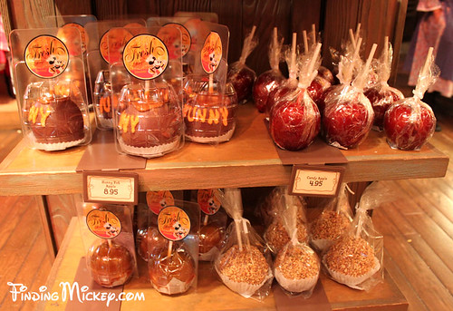 Halloween Time caramel apples