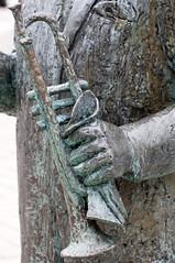 Play It Satchmo! (StarlightHope) Tags: statue trumpet musicalinstrument pregame allys staty pregamewinner