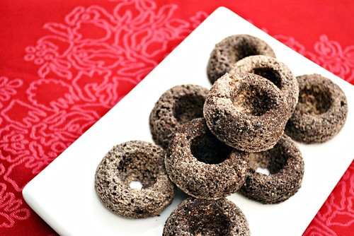 Mini Chocolate Cake Donuts