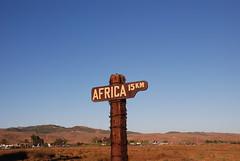 Africa a 15Km...