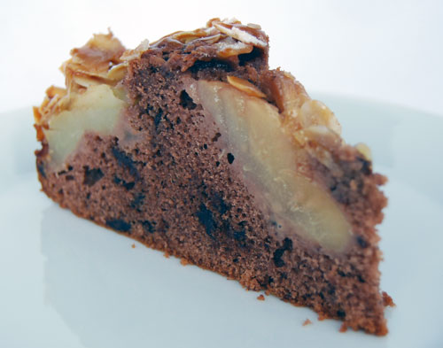 birnenschokokuchen