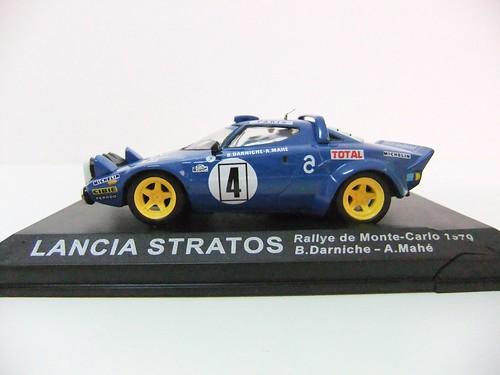 lancia stratos / rallye de monte-carlo 1979 - altaya - a photo on