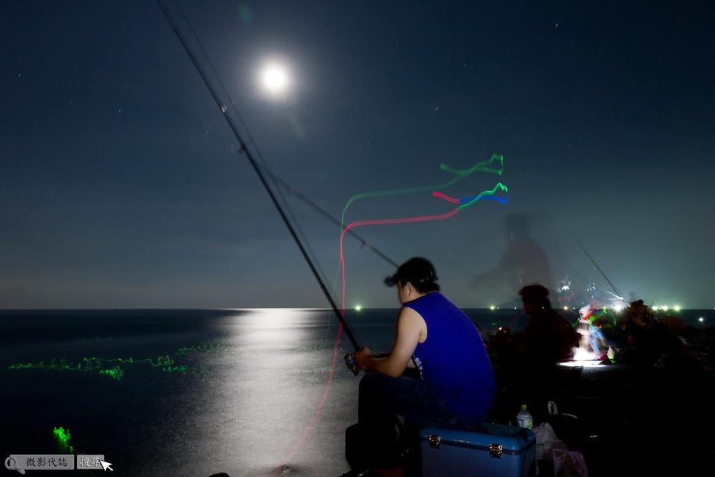 烏石港堤防夜拍 032