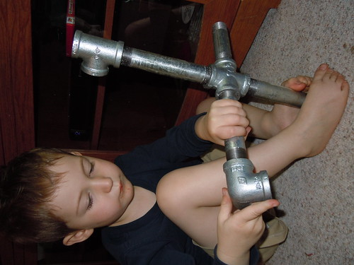 Pipe Building (Photo from Buttercup's Babies)