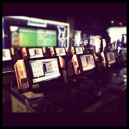 World Soccer Football Club Arcade