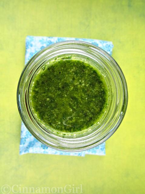 Basil Walnut Pesto Sauce