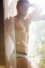 Burn (Frenky_photo) Tags: autumn light sun men nude muscle