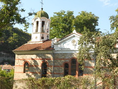 church of the assumption,built in 1923 over a ruined  14th century church velico tarnovo bulgaria 919 (1) (victory one) Tags: church medieval bulgaria orthodox 919  bulgarian