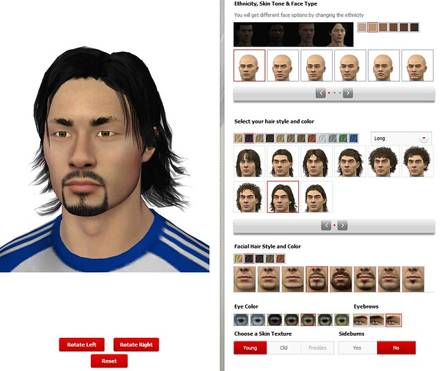 FIFA 12 Creation Centre: New 3D Player Creation