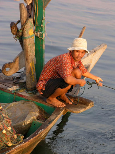 Indonesian fisherman, photo by Jamie Oliver, 2008