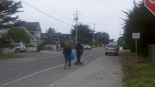 Segway Spotted in Half Moon Bay