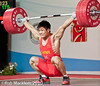 Lu xiaojun CHN 77kg (Rob Macklem) Tags: world turkey championship antalya olympic weightlifting lu 2010 chn xiaojun iwf 77kg