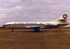 F-BJTJ Caravelle III (Irish251) Tags: ireland dublin airport aviation air iii jet international dub airliner charter sud airfrance caravelle se210 eidw